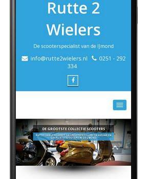 Rutte 2 Wielers - Mobiel